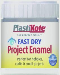 PlastiKote Fast Dry Enamel Brush On - Pewter - 59ml Bottle