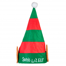 Plush Santa Lil' Elf Hat