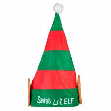 Plush Santa Lil' Elf Hat
