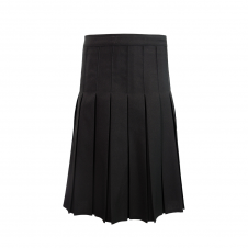 Polyester Top Stitched Pleated Skirt