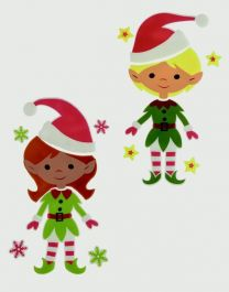 Premier 2 Assorted Boy & Girl Elf - 30x15