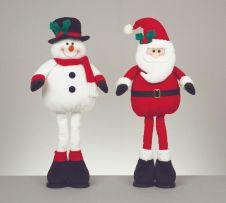 Premier 2 Assorted Santa & Snowman - 53cm
