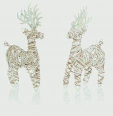 Premier 24cm Jute Reindeer - Assorted Designs Available