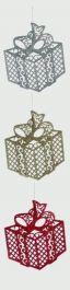 Premier 3 Assorted 2D Glitter Gift - 23x21