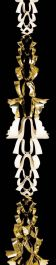 Premier 6 Section Garland 270x20 - Gold/Ivory
