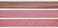 Premier 6cm x 2.7m Ribbon - 2.7m Red & Gold