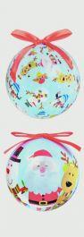 Premier 75mm Santa & Friends Balls - Assorted Designs Available
