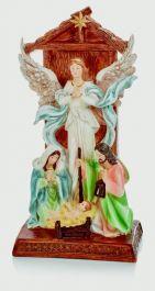 Premier Angel Holy Family Nativity Scene - 26 x 14cm