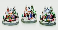 Premier Animated Houses With Tunnel - 20cm