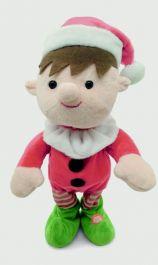 Premier Animated Singing Elf - 36cm