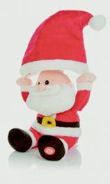 Premier Animated Singing Santa - 30cm