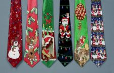 Premier Battery Operated Musical Xmas Tie - 6Assorted
