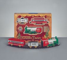 Premier Battery Operated Xmas Train Set With Sound - 23 Piece