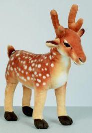 Premier Brown Standing Deer - 36cm