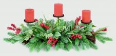 Premier Candle Centerpiece - With Berries 90cm