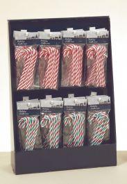 Premier Candy Cane Pack In CDU - 13cm 2 Assorted
