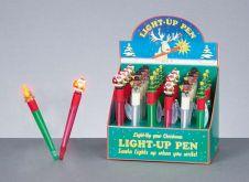 Premier Christmas Light-up Pen - Assorted