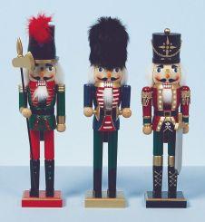 Premier Christmas Nutcracker Soldiers - 38cm 3 Assorted