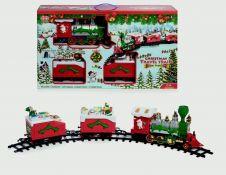Premier Christmas Travel Train - 23 Piece