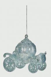 Premier Cinderella Carriage Trim - 12cm Silver