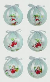 Premier Fairy Baubles - 75mm Assorted Designs Available