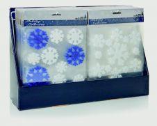 Premier Gel Snowflake Windowstickers Blue-White - 20x20