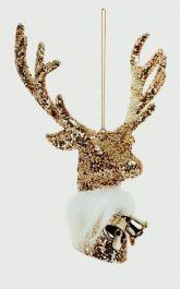 Premier Glitter Deer 17x13 - Champagne