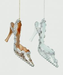 Premier Glitter Jewel Shoe Gold White - 13cm