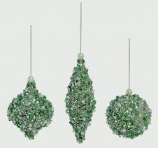 Premier Glitter Sequin Ball - 80-160mm Green