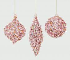 Premier Glitter Sequin Ball - 80-160mm Pink Assorted