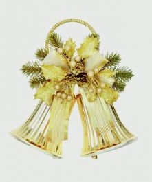 Premier Gold Double Metal Bellw Pine-Ribbon - 28x26
