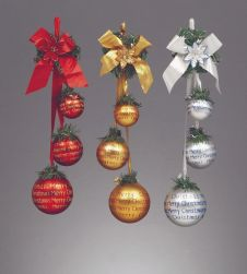 Premier Hanging Ball Cluster - 3 Piece