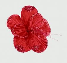 Premier Hibiscus Flower Red - 20cm