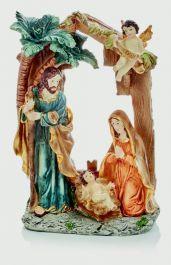 Premier Holy Family Nativity Scene - 22 x 15cm