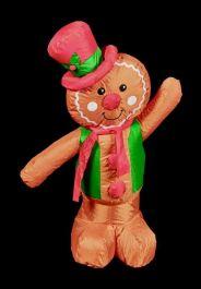 Premier Inflatable Gingerbread Man - 1.2m