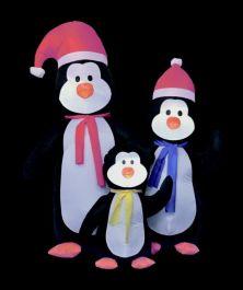 Premier Inflatable Penguin Family - 1.8m