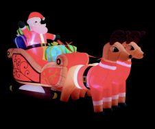 Premier Inflatable Santa In Sleigh - 3m
