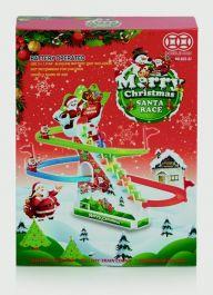 Premier Merry Christmas Santa Race - Battery Operated