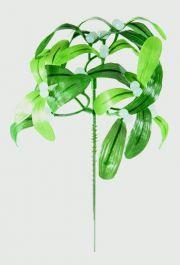 Premier Mistletoe Green Pick - 18cm