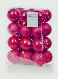 Premier Multi Finish Balls - 24x60 Red