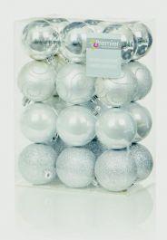 Premier Multi Finish Balls - 24x60 Silver