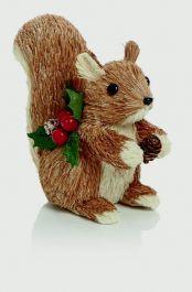 Premier Natural Standing Squirrel - 15 x 13cm