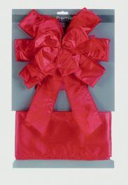 Premier Ribbon Door Bow - Red