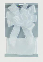 Premier Ribbon Door Bow - White