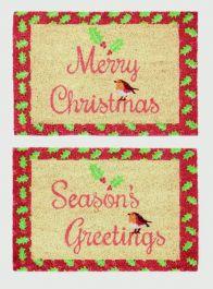 Premier Robin Christmas Seasons Natural - 40 x 60cm