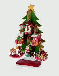 Premier Santa Snowman Reindeer Trim - 48 Piece