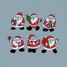 Premier Santa Window Stickers - 15cm