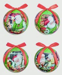 Premier Santa Workshop Ball - 75mm Assorted