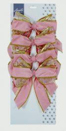 Premier Sheer Bows - Rose Gold Mix 4 x 15cm