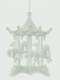 Premier Silver Carousel Trim - 15cm